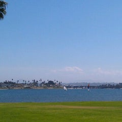 Photo taken at Mission Bay by Kenny R. on 10/1/2011