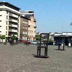 Photo taken at Plac Bohaterów Getta by Vitaly V. on 5/6/2012