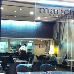 Photo taken at Marietta Café by Jose Eduardo V. on 10/18/2011