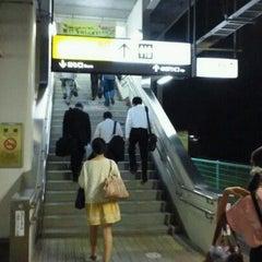 Photo taken at 牛久駅 (Ushiku Sta.) by ひたちの住人 on 9/30/2011
