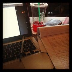 Photo taken at Starbucks by jahnissi on 11/13/2011