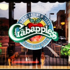 Photo taken at Crabapples New York Delicatessen by Drew D. on 6/22/2012