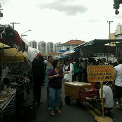 Photo taken at Feira Livre by Wei M. on 1/14/2012