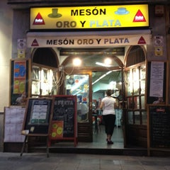 Photo taken at Meson Oro Y Plata by E. L. on 5/16/2012