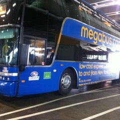 Photo taken at Megabus Stop - Washington, DC by Jennifer G. on 3/14/2012