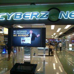Photo taken at SM Cyberzone by Raymond P. on 6/13/2012