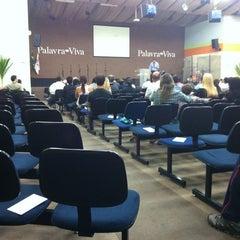 Photo taken at Igreja Batista Palavra Viva by Vera Lucia P. on 4/11/2012