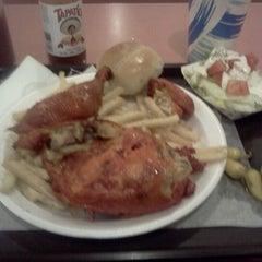Photo taken at Jim's Burgers by Joseph K. on 1/9/2012
