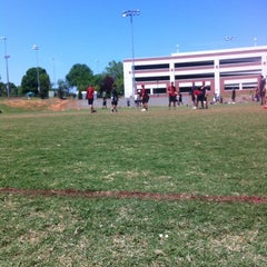 Photo taken at UGA Intramural Fields by Andrew G. on 4/14/2012