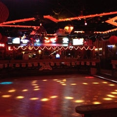 Photo taken at Round-Up Saloon and Dance Hall by Ben H. on 2/15/2012