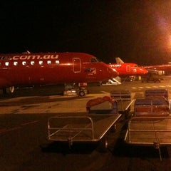 Photo taken at Canberra International Airport (CBR) by Lucas J. on 10/7/2011