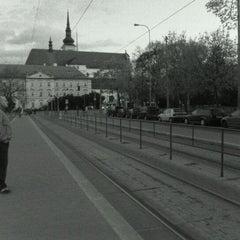 Photo taken at Moravské náměstí by Ondřej B. on 4/9/2011