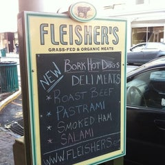 Photo taken at Fleisher's Grass-Fed and Organic Meats by Brownstoner on 8/18/2011