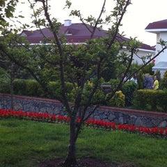 Photo taken at Elysium Park by İbrahim K. on 8/10/2011