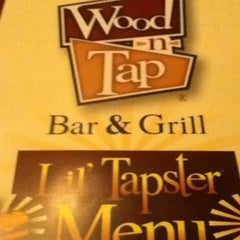 Photo taken at Wood-n-Tap Bar & Grill by Noah R. on 11/25/2011