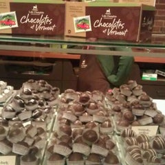 Photo taken at Lake Champlain Chocolates by Elvy on 12/30/2011