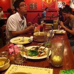 Photo taken at Kafe Sakae.西餐廳 by Eugene W. on 7/15/2011