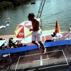 Photo taken at Dunaharaszti Wakeboard by Наташа Л. on 8/16/2012