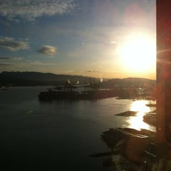 Photo taken at The Fairmont Waterfront by Hynde F. on 3/23/2012