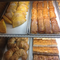 Photo taken at La Roma Bakery by Pedro C. on 8/19/2012