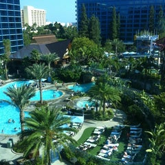 Photo taken at Disneyland Hotel by Kristina on 8/4/2012