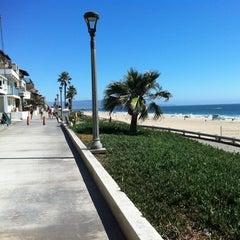Photo taken at Manhattan Beach by Petra S. on 7/20/2012