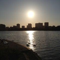 Photo taken at Lake Merritt by Chris on 5/25/2012