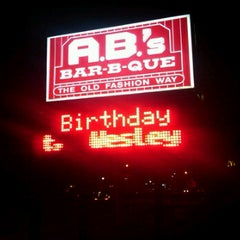 Photo taken at Abs bbq by James G. on 4/7/2012