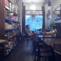 Photo taken at Tezgah Kitapevi Cafe Bar by Tezgah T. on 6/24/2012