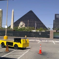 Photo taken at Luxor Festival Grounds by @Vegaswinechick on 6/19/2012