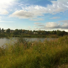 Photo taken at St. Vital Park by Brittany M. on 9/5/2012