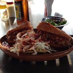 Photo taken at Tortas Ahogadas El Chile by Dok A. on 2/27/2012