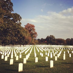 Photo taken at Arlington National Cemetery by Justin H. on 10/22/2011