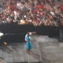 Photo taken at Ready To Go Rally in Columbus with Barack and Michelle Obama 05/05/2012 by D Gene K. on 5/5/2012