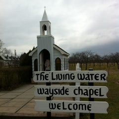 Photo taken at The Living Water Wayside Chapel by Maggie C. on 1/25/2012