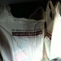 Photo taken at Wines and Spirits Shop - East Stroudsburg by Eve Y. on 8/27/2012