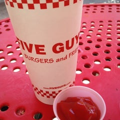 Photo taken at Five Guys by Gary G. on 5/20/2012