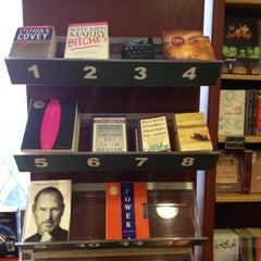Photo taken at El Shorouk Bookstore by mcasaverde on 9/12/2012