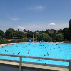 Photo taken at Lasker Pool & Ice Rink by Paul S. on 8/12/2012