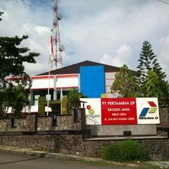 Photo taken at PT. Pertamina EP Field Cepu by Amran A. on 12/30/2011