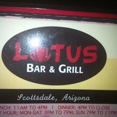 Photo taken at Lotus Bar & Grill by Janae J. on 9/3/2011