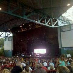 Photo taken at Virginia Beach Amphitheater by Realtor Drick W. on 8/19/2011