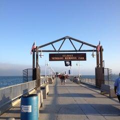 Photo taken at Belmont Veterans Memorial Pier by Nikki P. on 7/3/2012