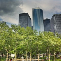 Photo taken at Battery Park by Victor G. on 6/13/2011