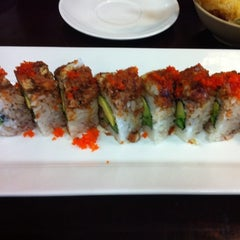 Photo taken at Sushi One by Melanie S. on 7/28/2011