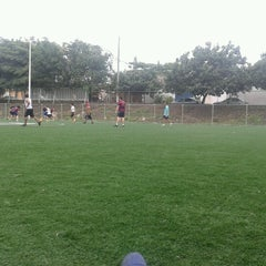 Photo taken at Unidad Deportiva by Alex H. on 9/9/2012