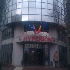 Photo taken at Universitatea Hyperion by Jennifer M. on 12/16/2011