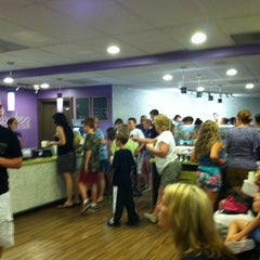Photo taken at Bamboo Frozen Yogurt Café by Patrick B. on 7/7/2012