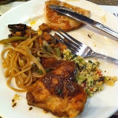 Photo taken at MORE The Buffet at Luxor by Clara C. on 9/19/2011