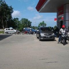 Photo taken at SPBU Km 9 by Andhika H. on 6/2/2012